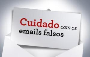 e-mails falsos