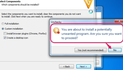 Unchecky-warning-message