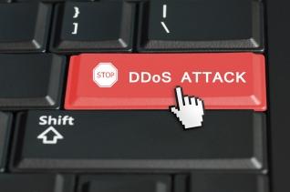 DDoS concept